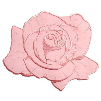Dusty Pink Rose Large Back Patch