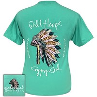 Girlie Girl Originals Preppy Wild Heart Gypsy Soul T-Shirt