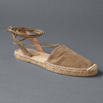 Lace up espadrilles | Gap