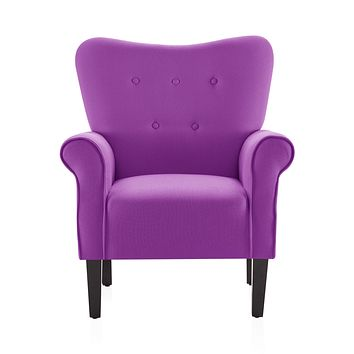 Modern Accent Chair (Purple)