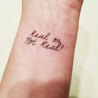 Mockingjay - Real or Not Real? - Temporary Tattoo - The Hunger Games