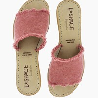 Sunday Slide Sandals - Sahara Pink