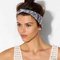 Mesa Lines Twisted Headwrap - Grey One