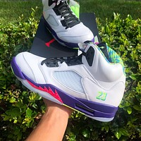"Air Jordan 5 Retro ""Alternate Bel-Air"" Sneakers Shoes"