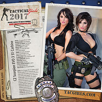 Tactical Girls 2017 Wall Calendar