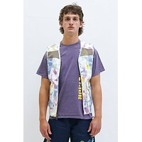 Canvas Spacer Mesh Tactical Vest in Dry Pigment Dye