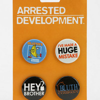 Urban Outfitters - Arrested Development Pin - Set Of 4
