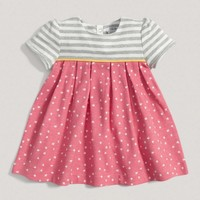 Baby Girl Mix And Match Star Jersey Dress