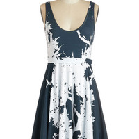 ModCloth Eco-Friendly Mid-length Sleeveless A-line What Grows Around Comes Around Dress